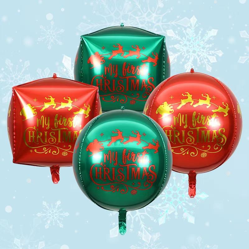 圣诞4D铝膜气球