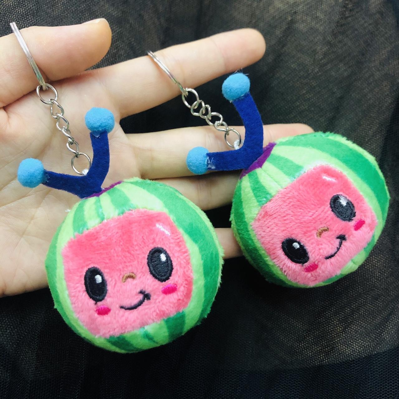 毛绒玩具公仔挂件钥匙扣一家人挂件钥匙扣西瓜挂件钥匙扣