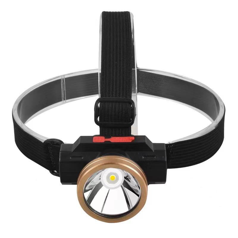 夜跑步多用途轻便头带灯LED头灯强光充电超亮夜钓鱼专用户外照明