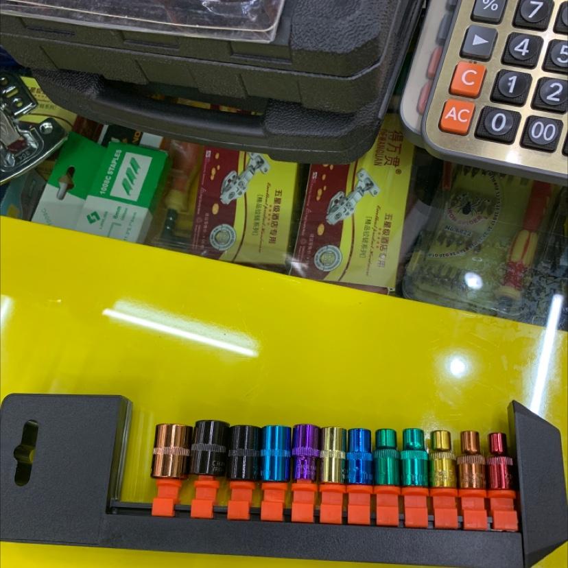 12PC彩色套筒
