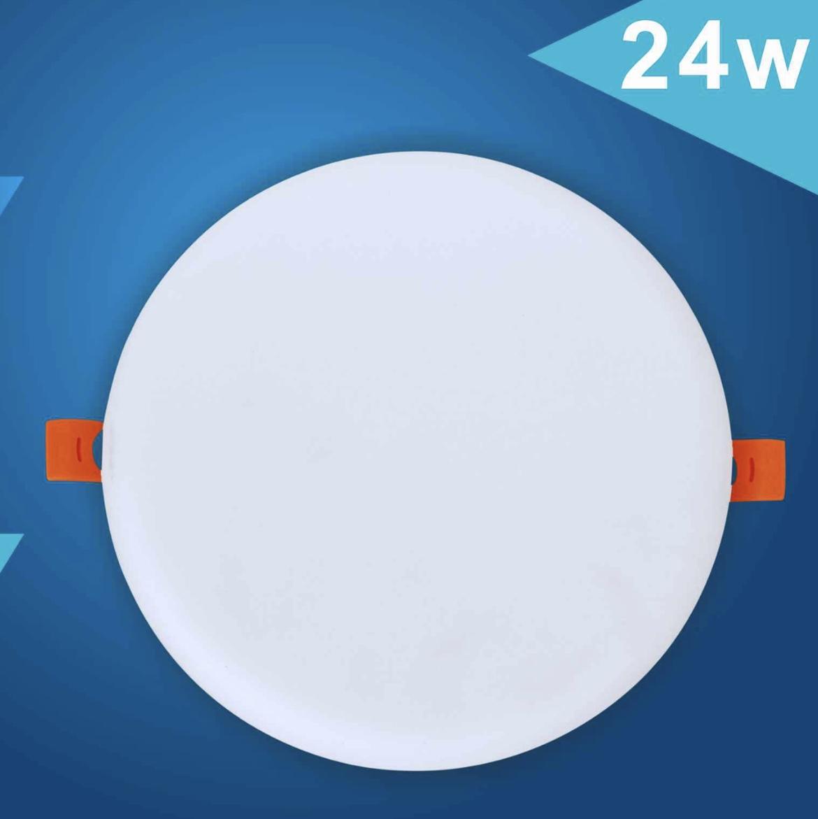 24W自由开孔无边框面板灯