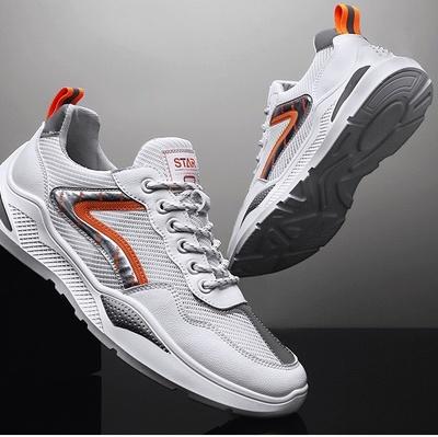 男鞋夏季2021新款潮流运动鞋男士网布休闲ins青少年透气跑步鞋子