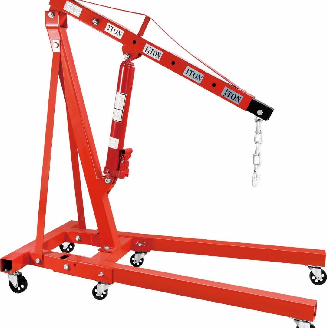 折叠吊机 车载小吊机 2T 3T汽车吊运机