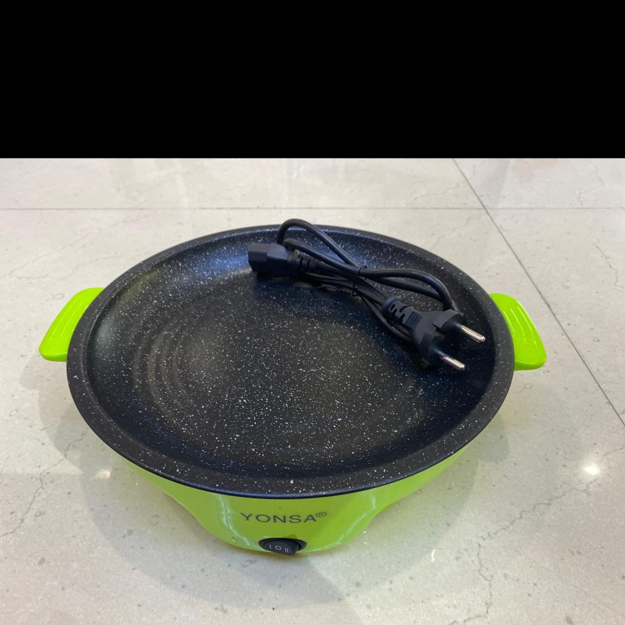 外卖迷你不粘电烤盘烤肉盘商用烤肉店外送盘多功能电煎锅