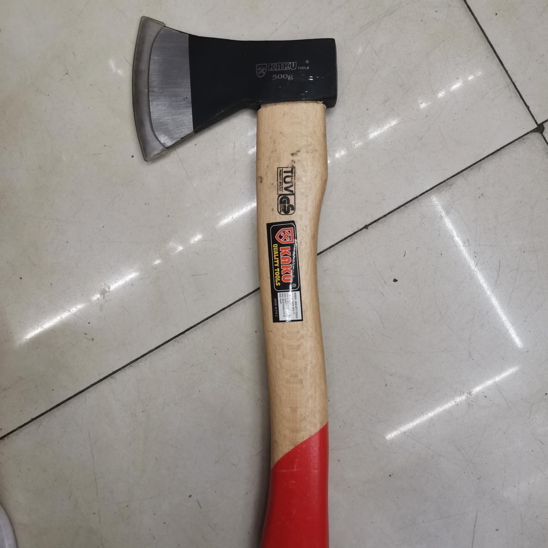 木柄斧头600克