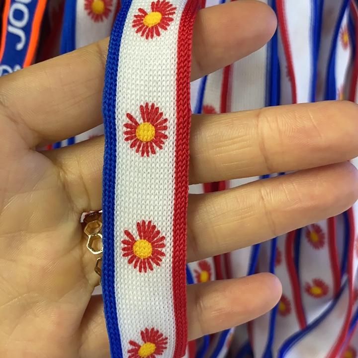 印花针织带