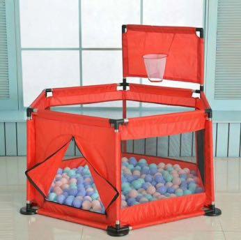 婴儿围栏 游戏场所 带海洋球