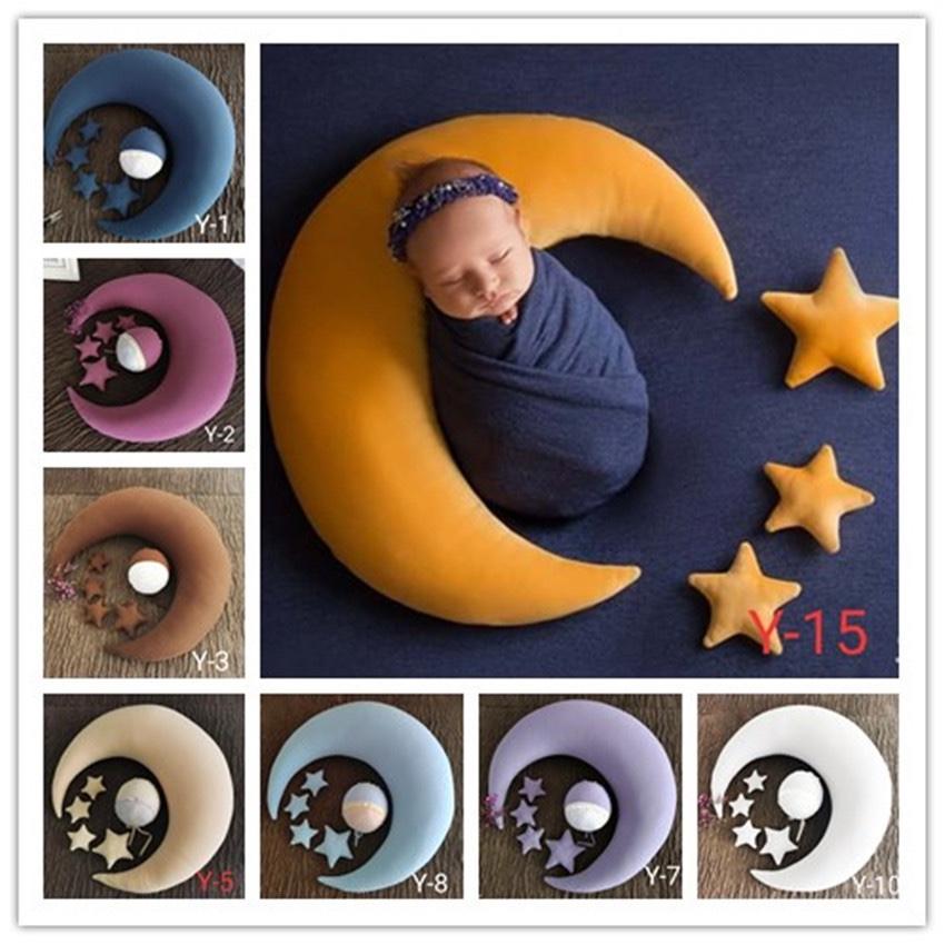 婴儿月亮枕头 宝宝睡眠枕头