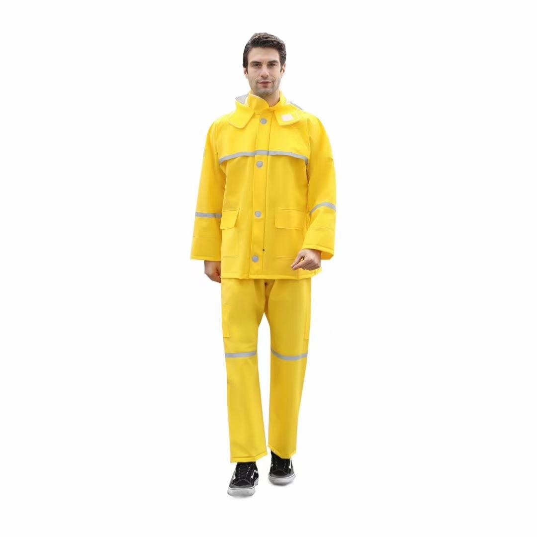 针织布雨衣套装