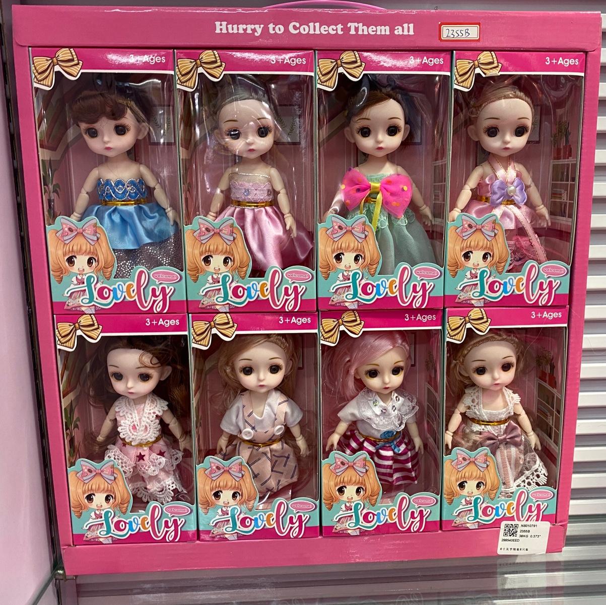 6寸娃娃 多关节混装