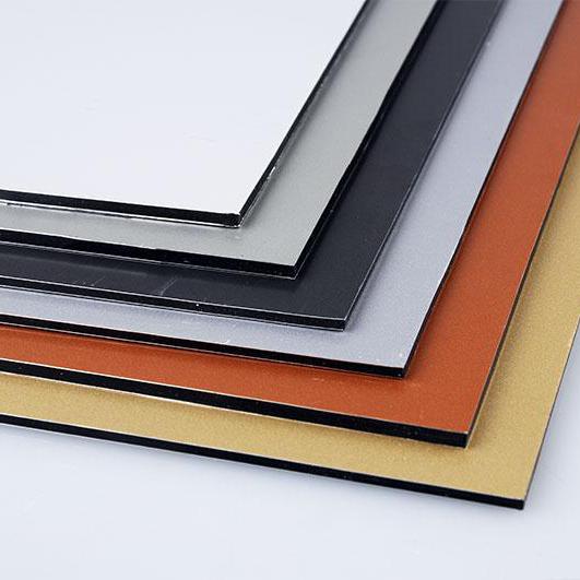 出口铝塑板内外墙幕墙干挂广告门头背景装饰阳台铝板彩色铝塑板