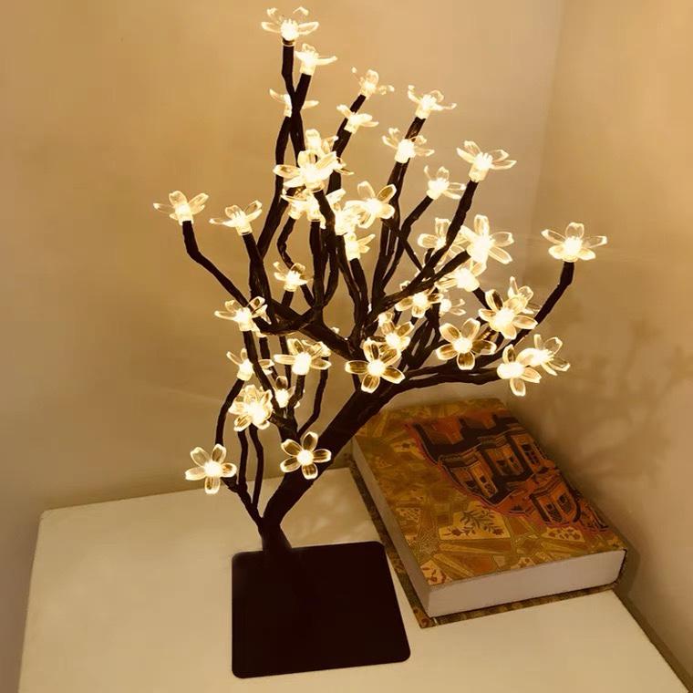 led发光树灯圣诞灯彩灯室内装饰樱花灯