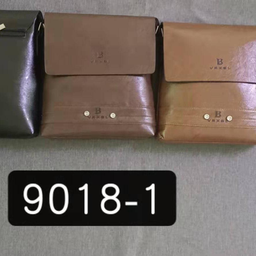 9018-1男士单肩斜挎包时尚商务男包