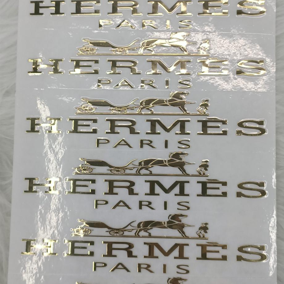 金属贴、电镀贴纸