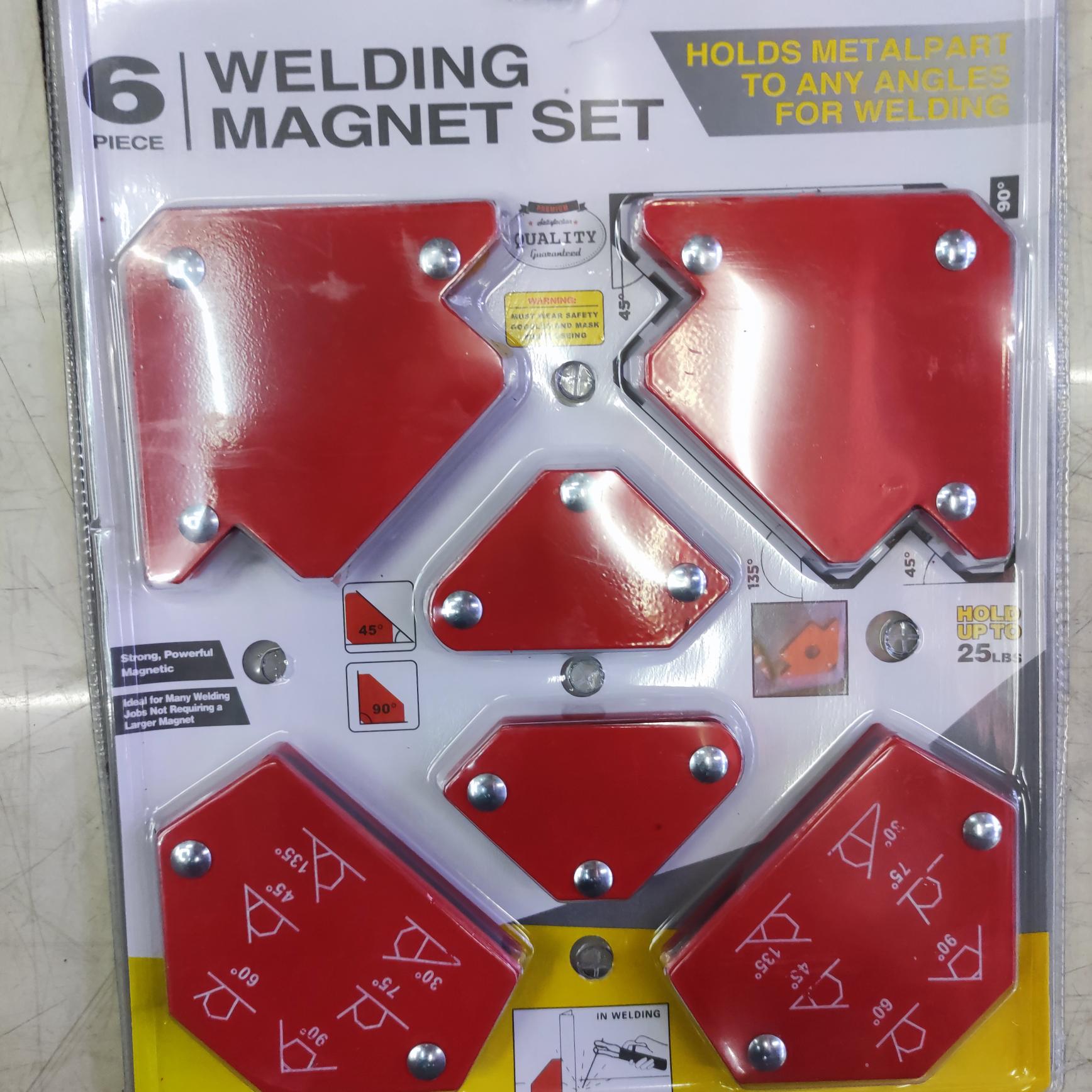 焊接角度定位器电焊磁铁强磁吸铁神器直角固定器磁性焊工辅助工具
