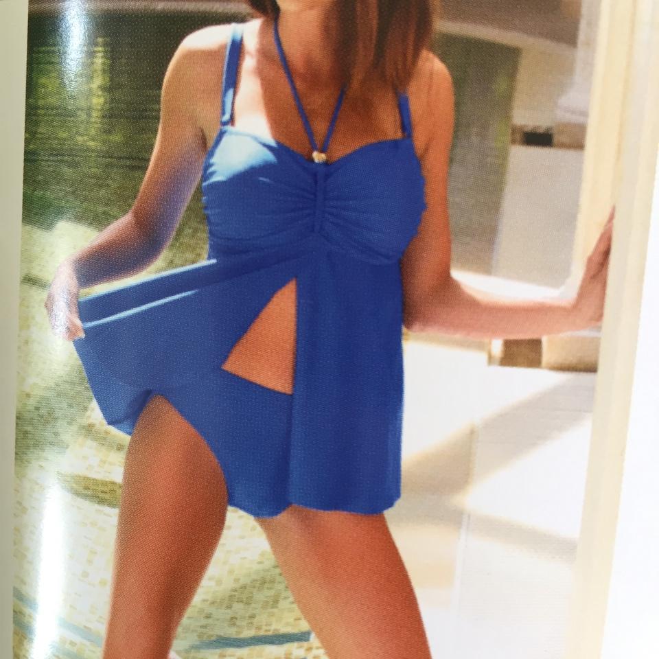 欧美时尚大牌范儿气质显瘦裙子👗比基尼泳衣