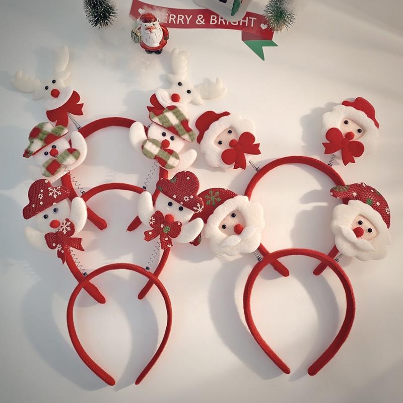 圣诞普通头扣