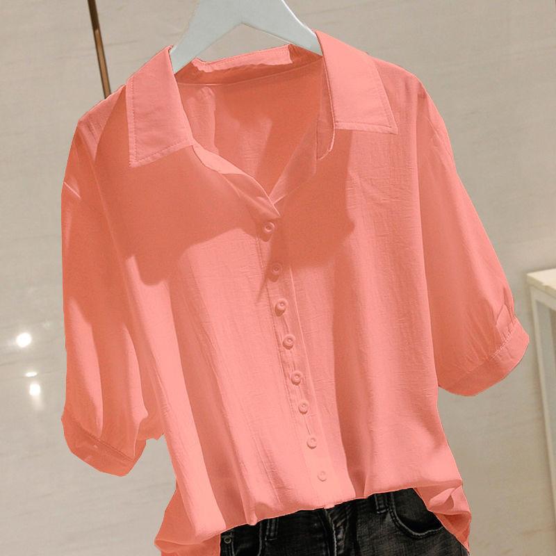 2021年夏季新款时尚个性印花短袖t恤女夏洋气设计感宽松显瘦上衣19