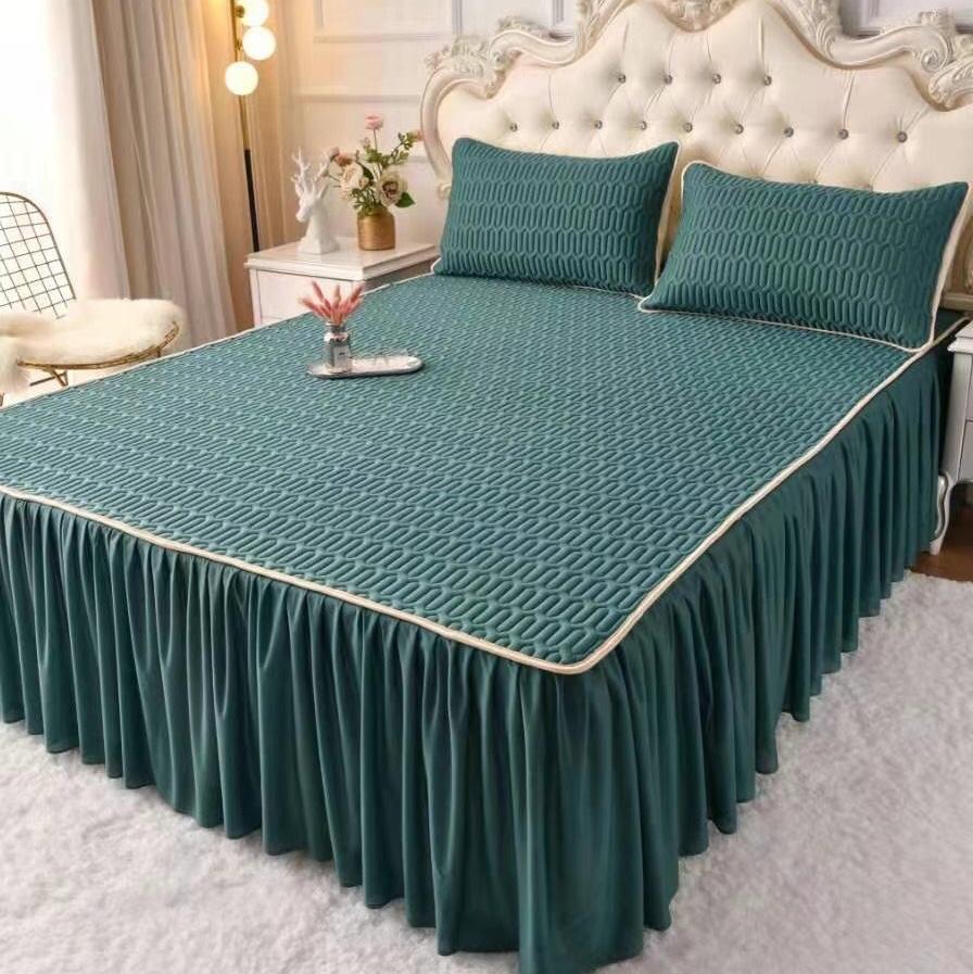 床裙乳胶冰丝席