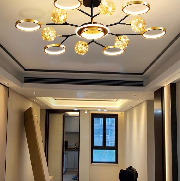 客厅大灯家用大气简约现代米家小爱同学三室两厅全屋灯具套装组合北欧灯具小米吸顶灯