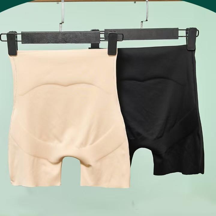 薄荷5D悬浮裤平角三分安全裤