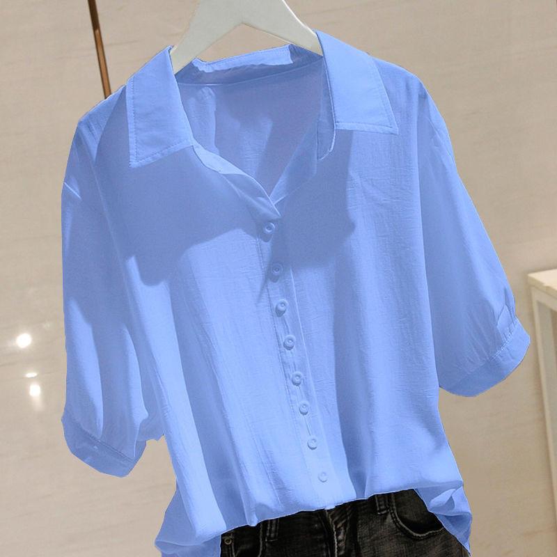 2021年夏季新款时尚个性印花短袖t恤女夏洋气设计感宽松显瘦上衣18