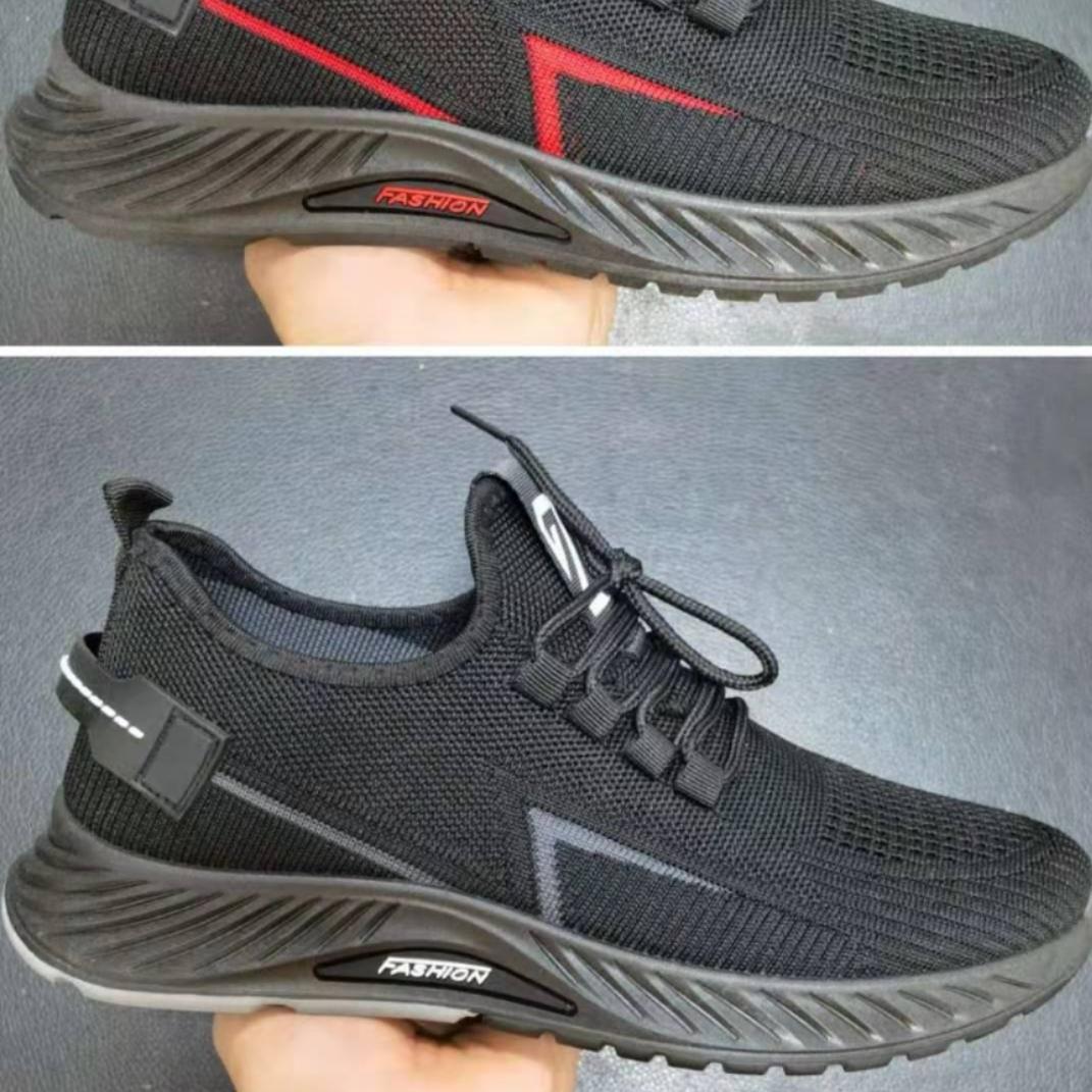 2021男款时尚休闲飞织运动鞋