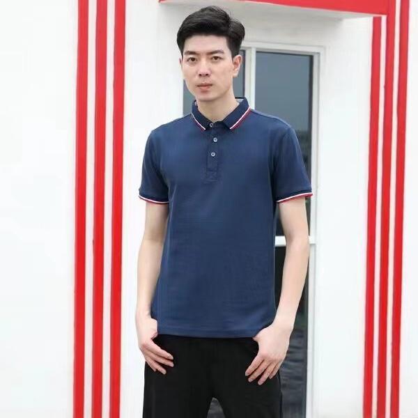 polo衫男士短袖2021新款夏季翻领商务休闲t恤纯棉半袖体恤衫薄款