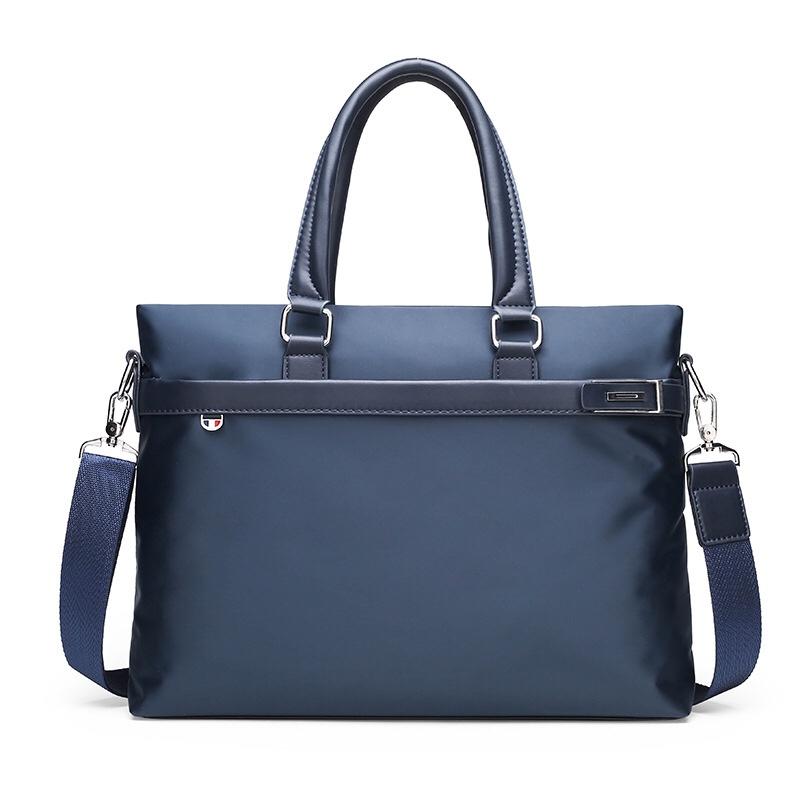 1242新款男士韩版潮流休闲尼龙手提包时尚轻盈尼龙布料斜挎单肩手提包