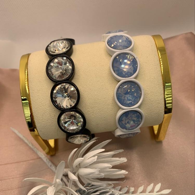 合金水钻手链