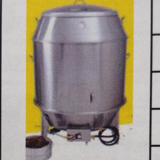 90CM双层工程鹅炉(燃气)