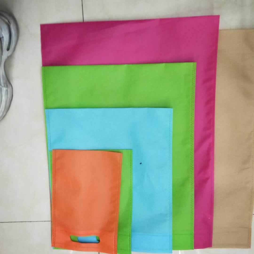 无纺布环保原材料平口袋18