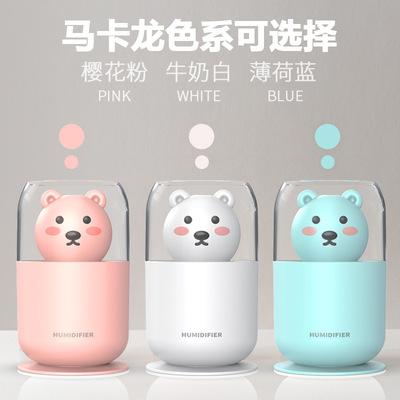 萌熊夜灯加湿器