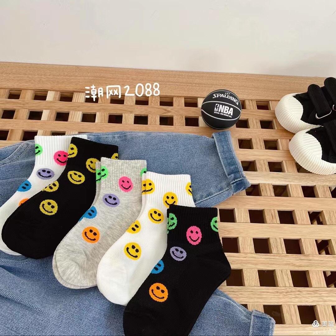 儿童全棉潮袜