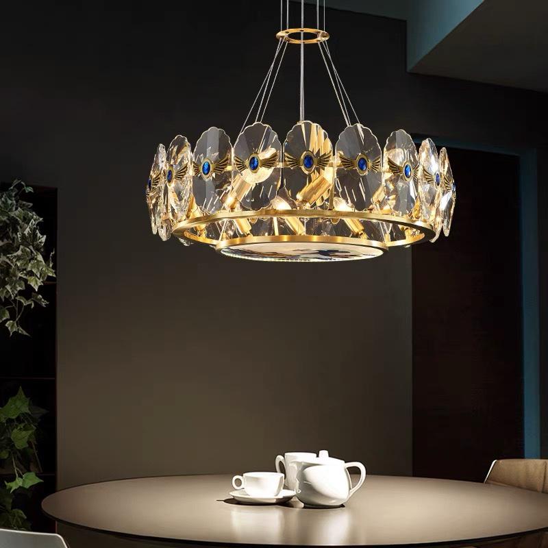 吊灯客厅卧室餐厅高端大气灯创意个性轻奢水晶吊灯