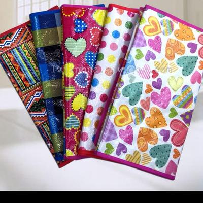 编织袋花型各式各样