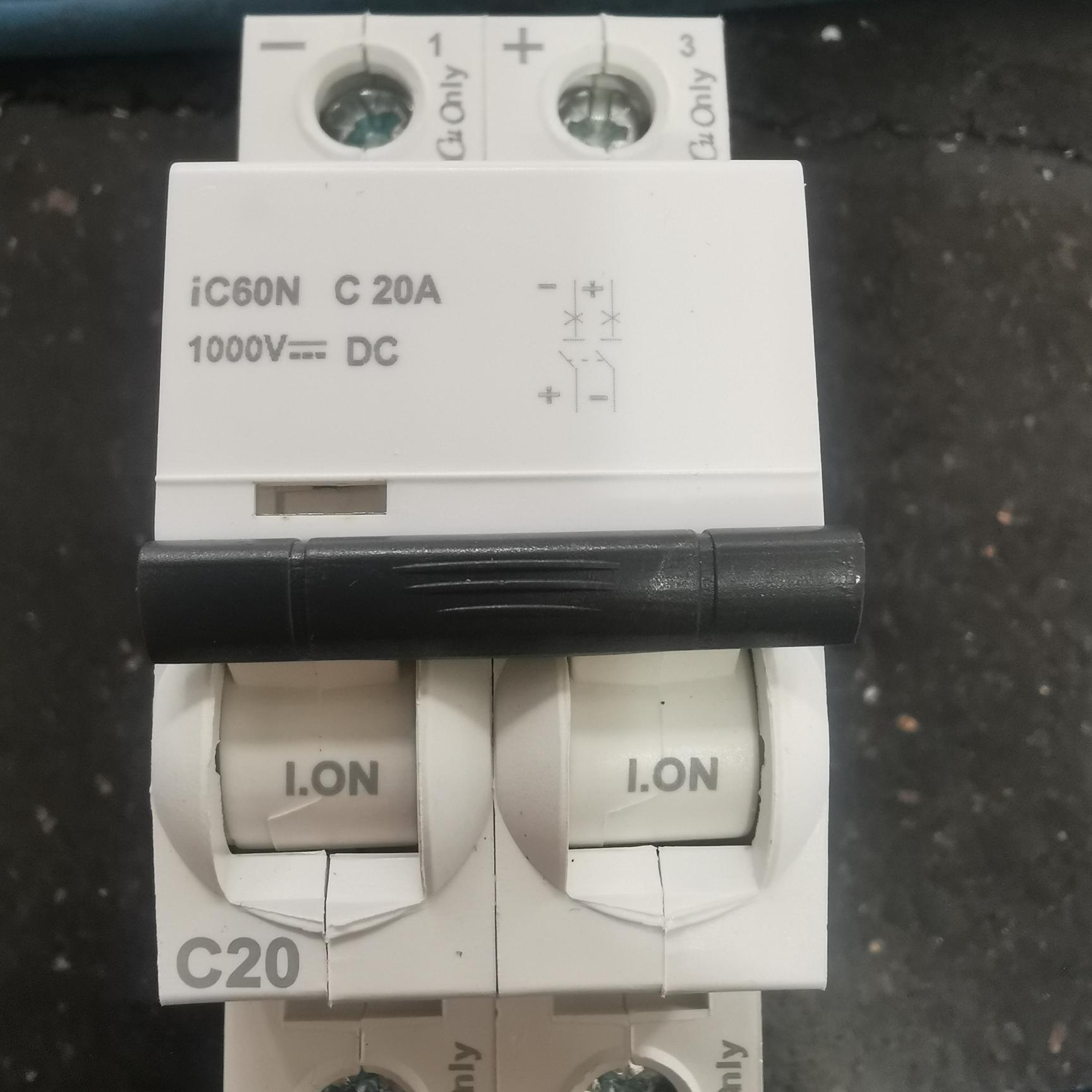 断路器DC/1000V/2P