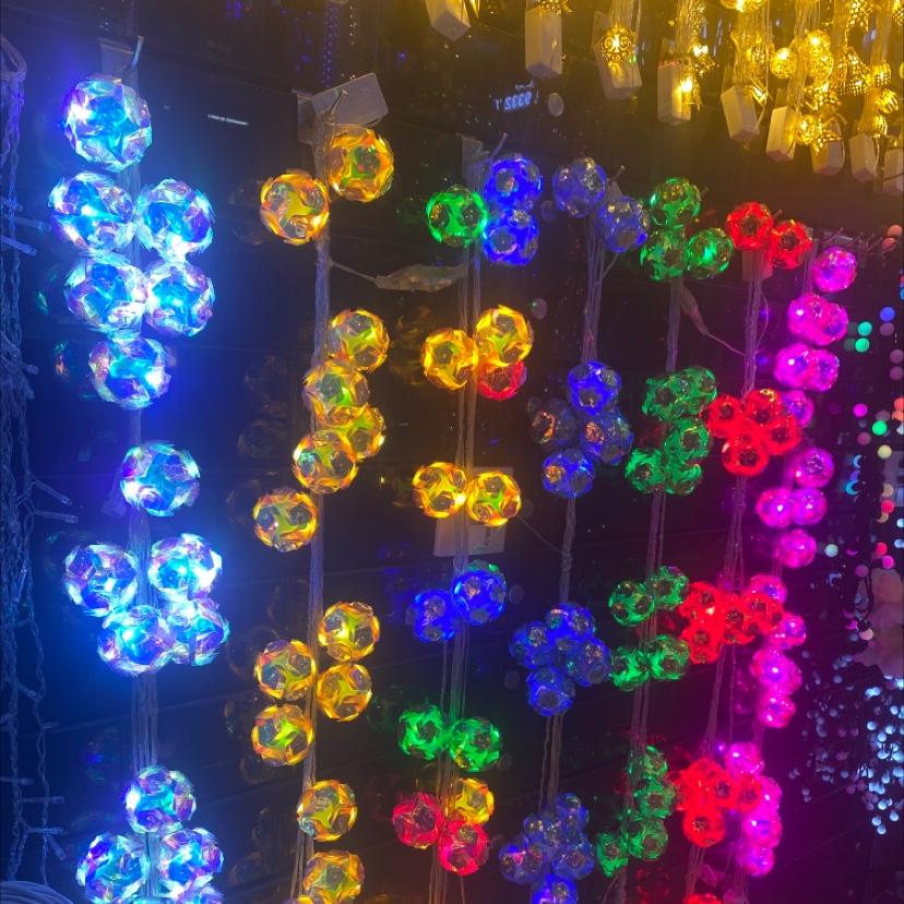 梦幻球灯串