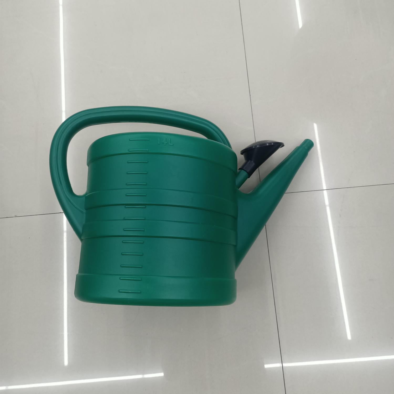 塑料洒水壶14L批发家用农用园艺花卉喷壶14升超大号绿色加厚塑料洒水壶长嘴浇水花洒器绿色洒水壶