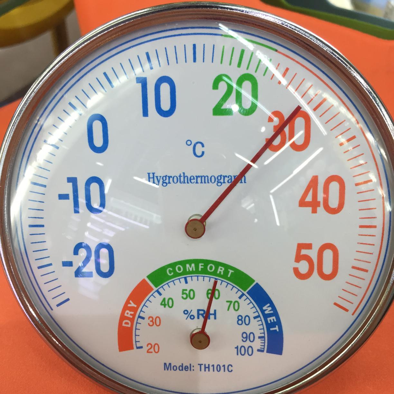 工厂直销101款釉丝温湿度计无需电池