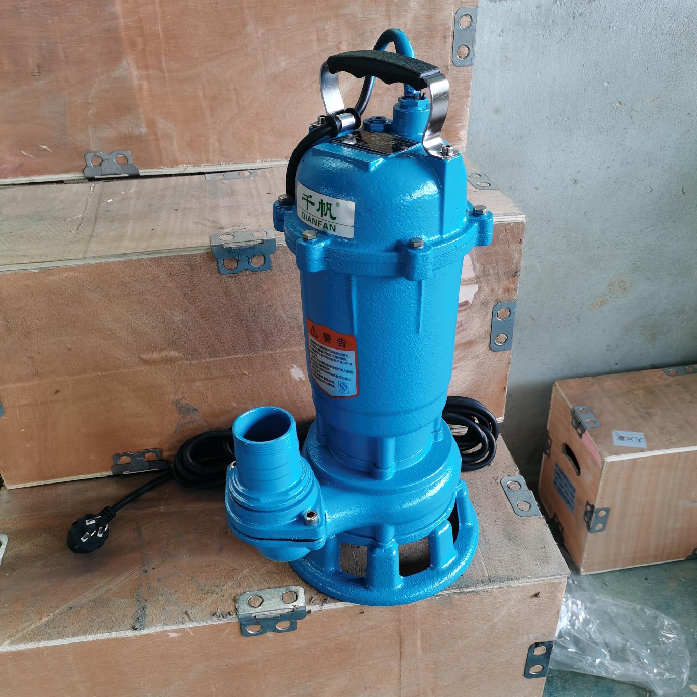 切割污水泵沼气沼液切割潜水泵养猪泵化粪池水泵大元款切割泵