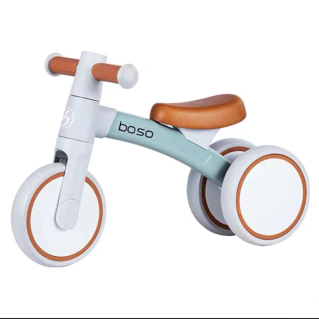 宝仕儿童滑行平衡车1-3周岁小孩溜溜车婴儿学步扭扭车玩具车