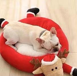 圣诞宠物窝狗窝猫窝新款