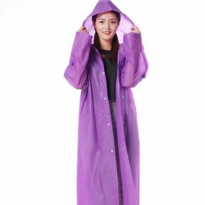 雨衣雨披批发EVA成人长雨衣