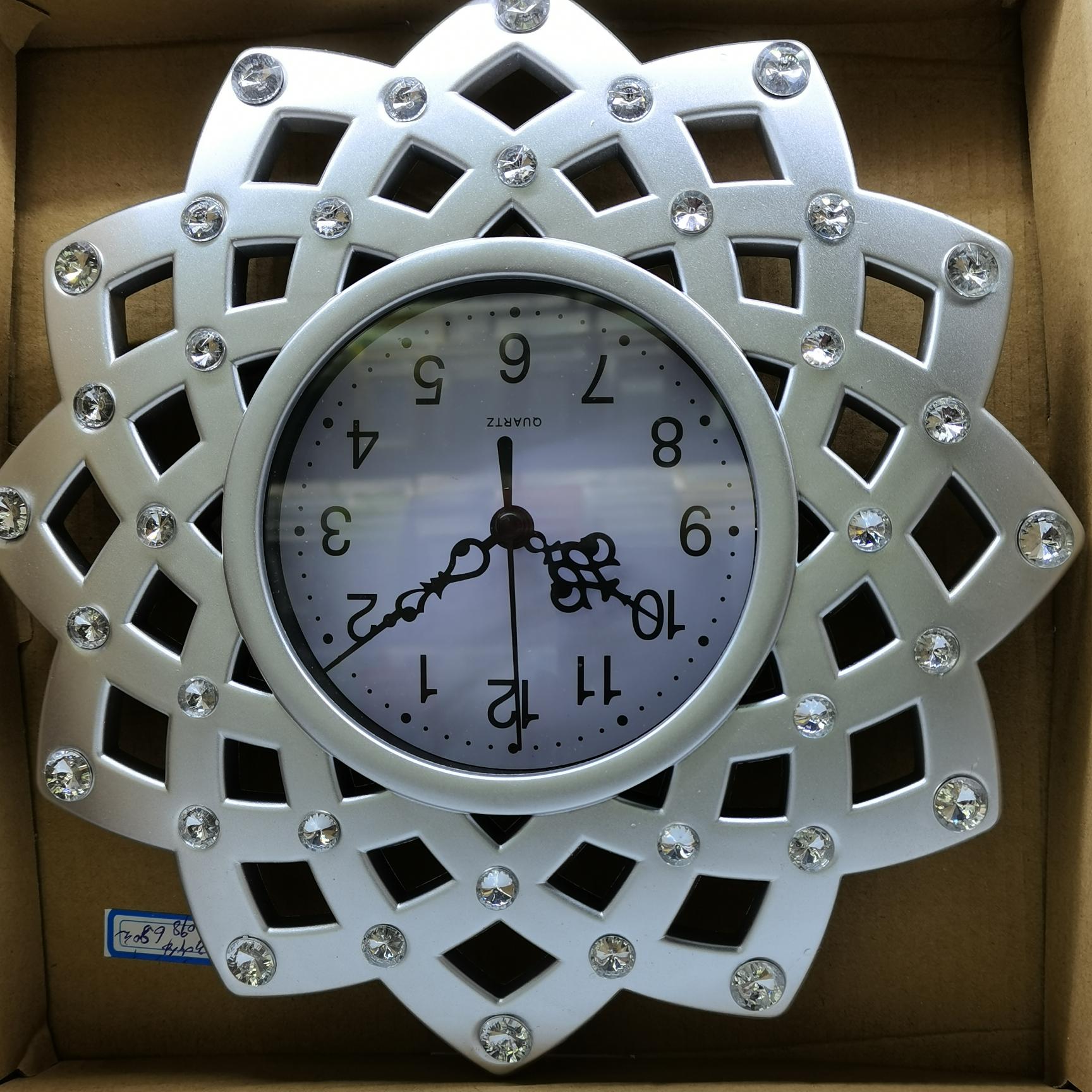 塑料相框挂墙钟表,尺寸可选创意现代宜家相架画框017型