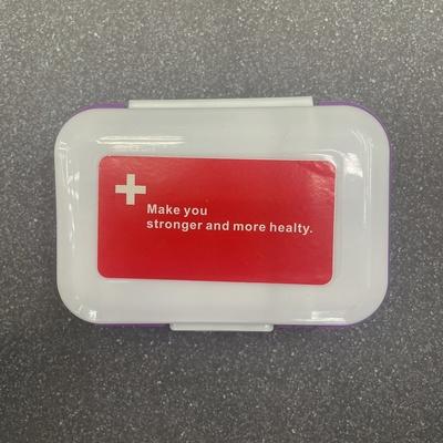 药盒分类安装小巧简约方便携带