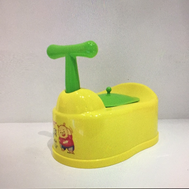 Baby potty with handle-2