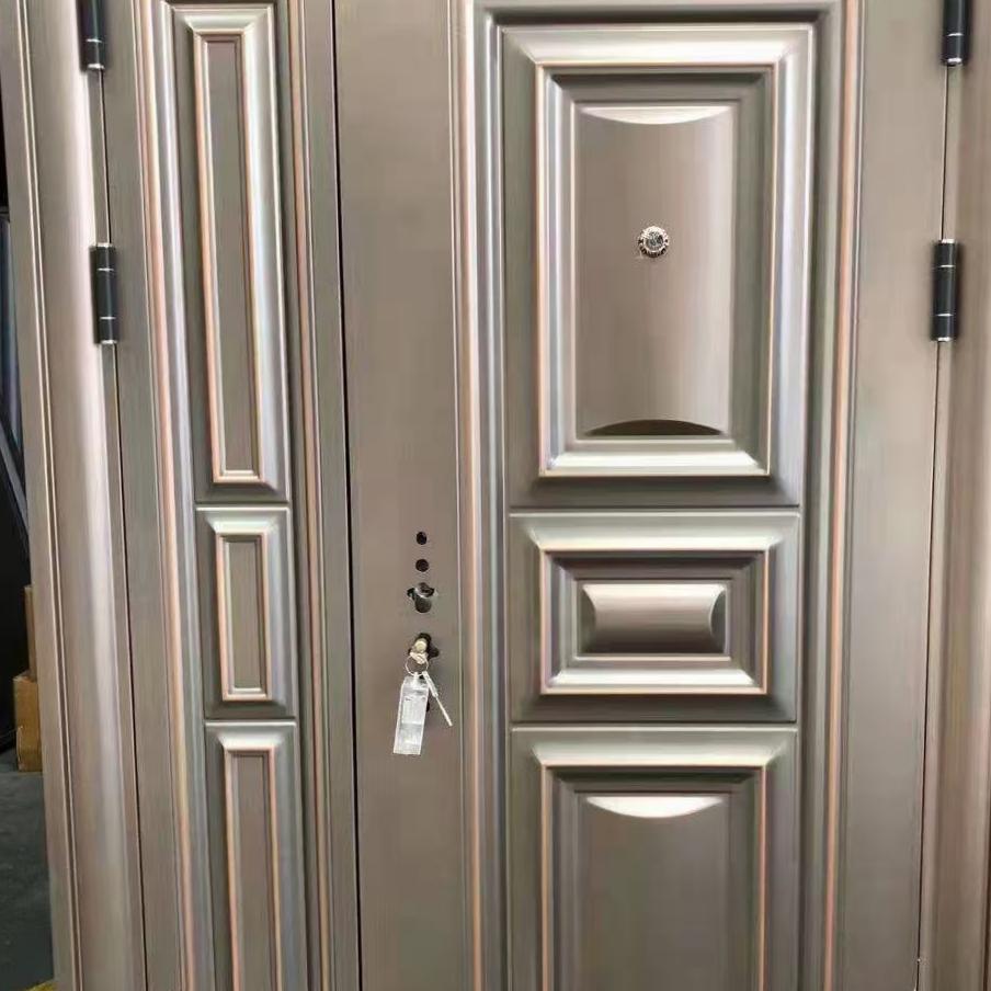 精品装甲钢木门 钢木装甲门 室内钢木装甲门
