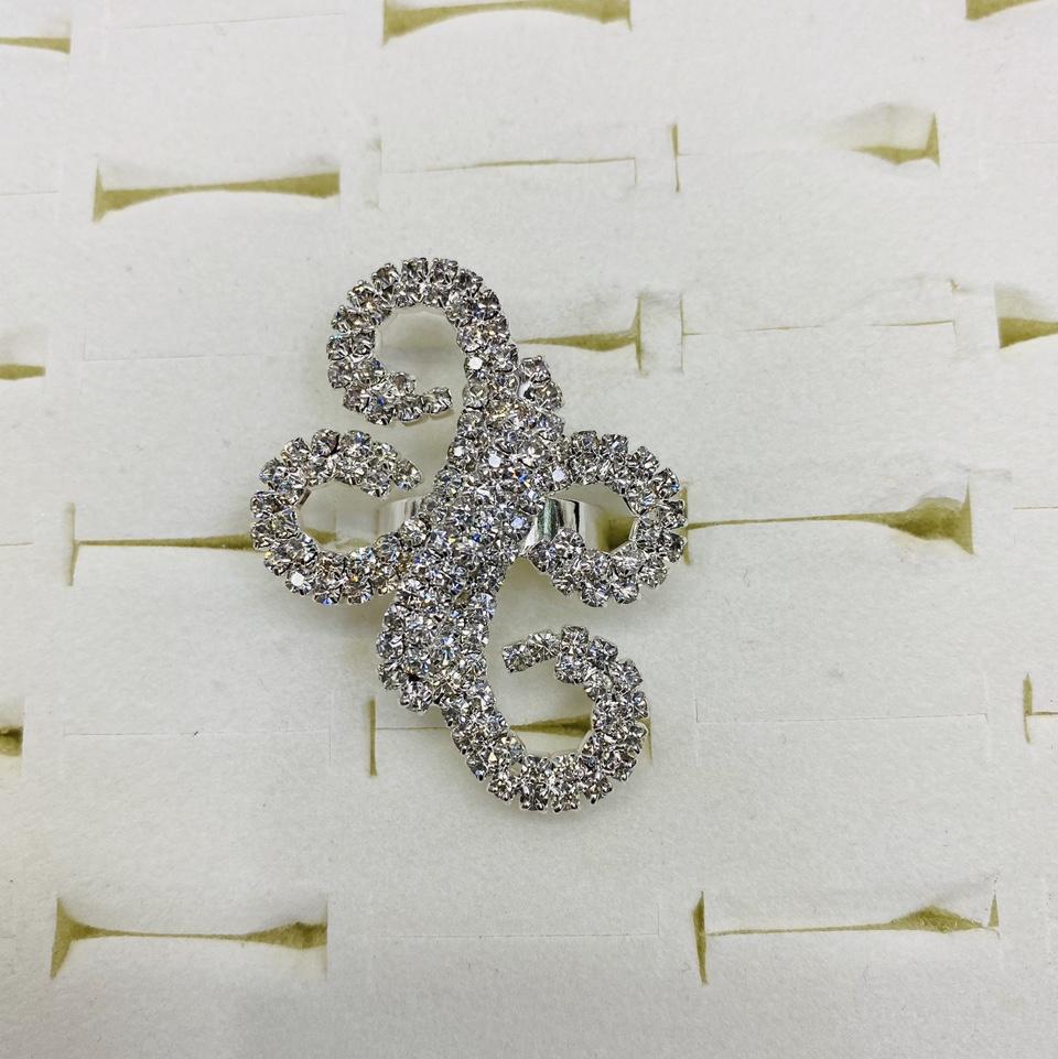 ins2021爪链戒指气质百搭原创设计韩版高级水钻新款首饰日系戒指百搭款569