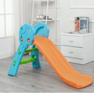 儿童室内户外玩具小花朵滑梯加长